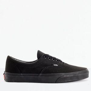 e18761d909 Vans Era Classic All Black Skate Shoes
